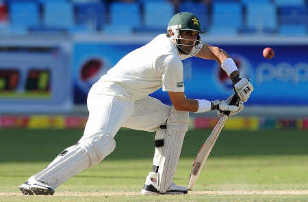 Misbah-ul-Haq played a careful innings