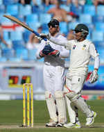 Adnan Akmal went on to a very useful half-century on the third morning