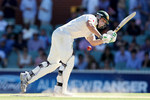 Shaun Marsh was trapped lbw for a duck