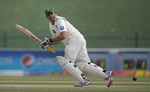 Azhar Ali made 68 before falling to the new ball