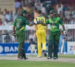 Nasir Jamshed and Mohammad Hafeez gave Pakistan a steady start