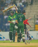 Azhar Ali and Misbah-ul-Haq ended the match