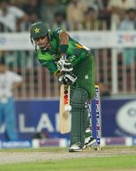 Mohammad Hafeez was clumsy in the start of the match