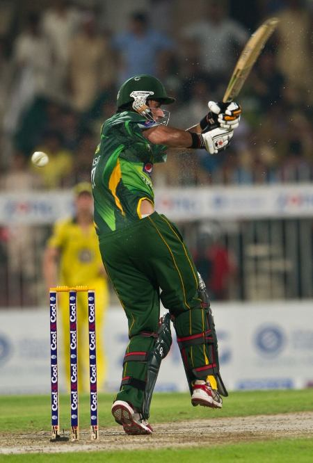 Nasir Jamshed was just 2 runs short of a half-century