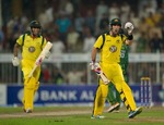 Glenn Maxwell played a superb innings and ended the match with a six