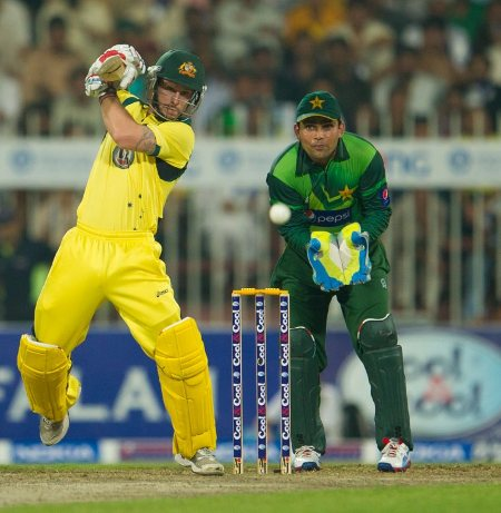 Michael Hussey played another solid innings