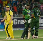 Mohammad Hafeez and Imran Nazir scored 30 runs together