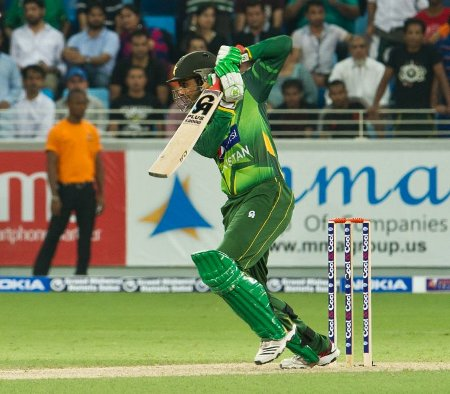 Shoaib Malik ended the match