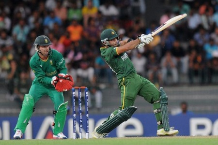 Umar Akmal made 43 runs