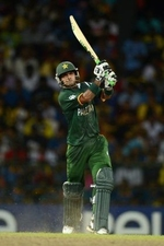 Mohammad Hafeez scored 42 runs