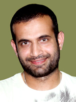 Portrait of Irfan Pathan