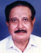 Portrait of R Raghunath