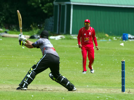 Shaiman Anwar moves to century off the last ball