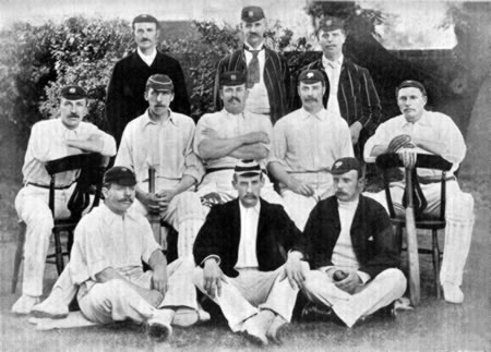 Players v Australians at Lord's, 1890