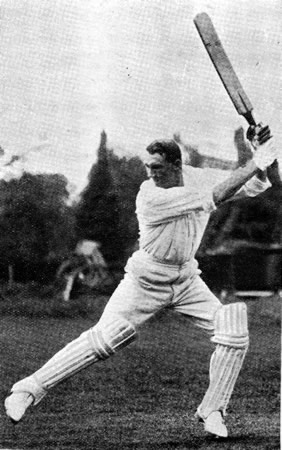 Batting Portrait of George Brown
