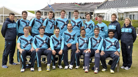 ICC World Cricket League Championship 2011 to 2013, Scotland against Kenya, Scotland team photograph