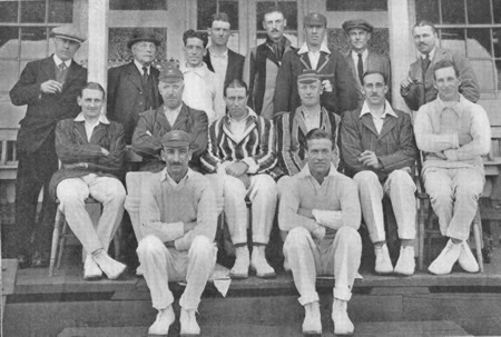 Essex Team against Somerset, 13th, 15th, 16th May 1922
