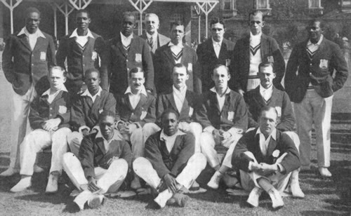 West Indies in British Isles Team photograph 1923