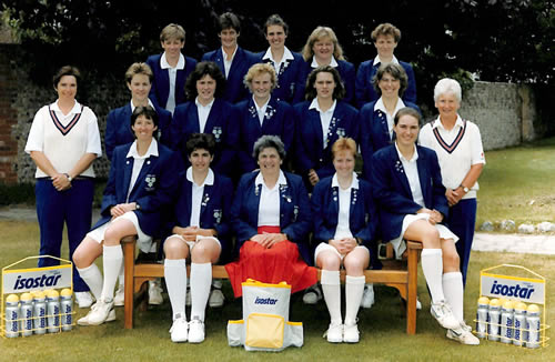 Women's World Cup 1993 England Squad-06