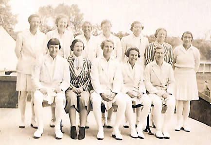 England Women team for the 2nd Test, 1937