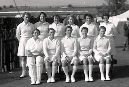 England Women team v The Rest, Kingston 1952