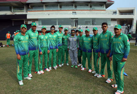 The Pakistan Under-19s squad