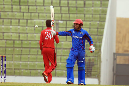 Tariq Stanikzai celebrates his fifty