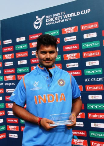 RR Panth was the Man of the Match