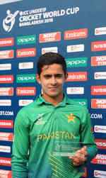 Umair Masood was the Man of the Match
