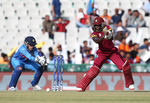 Stafanie Taylor, Captain of the West Indies drives the ball