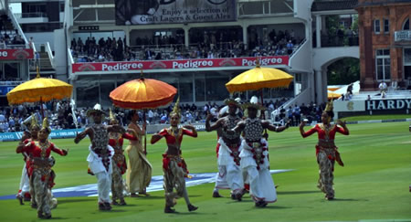 Lunch time dance performance at Lord's