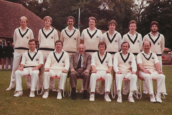 Scotland team at Arundel, 1982