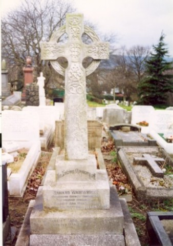 Last resting place of Edward Wainwright