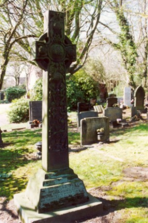Last resting place of Peter Eckersley