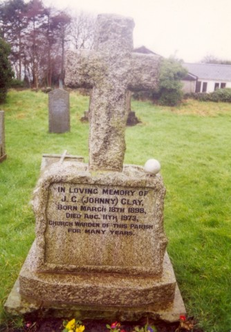 Last resting place of Johnnie Clay