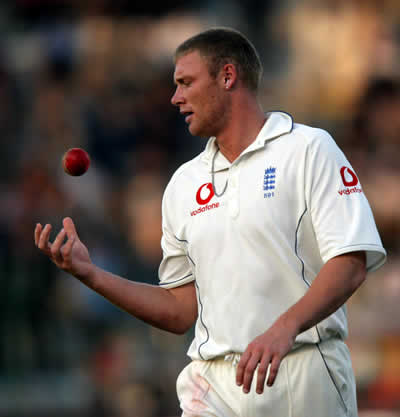 Andrew Flintoff in style