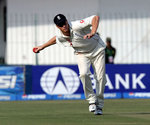 Andrew Flintoff in action