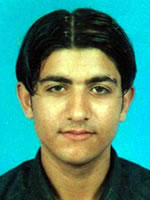 Jibran Afridi - Player Portrait